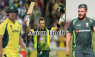Aaron Finch Australian International cricket player
