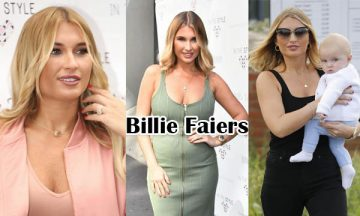 Billie Faiers English Model