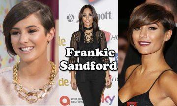 Frankie Sandford English singer