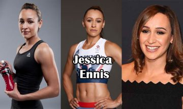 Jessica Ennis British track and field athlete