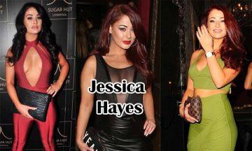 Jessica Hayes British Model