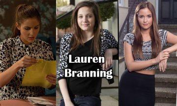 Lauren Branning British Actress