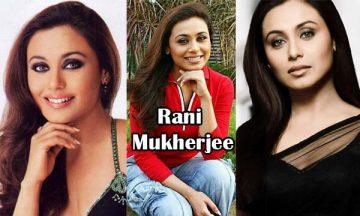 Rani Mukherjee Indian Actress