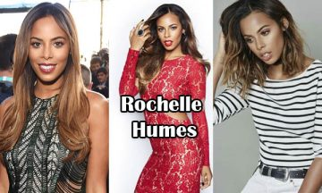 Rochelle Humes English Singer