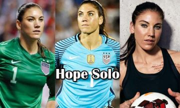 Hope Solo Soccer Player
